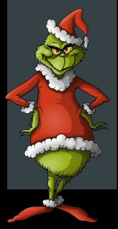 my toon version of the grinch from 'how the grinch stole christmas' by Dr. Seuss the grinch Grinch Christmas Party, Grinch Who Stole Christmas, Christmas Yard Art, Grinch Party, Christmas Rock, Christmas Themes, Christmas Holidays, Christmas Crafts, Christmas Decorations