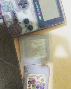 sarahelizaabeth: #gameboy #still #working... #childhood #Nintendo #gameboy #microobbit