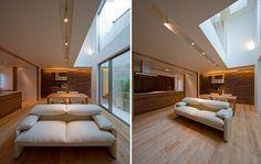 ゆとりと落ち着きのあるシンプルモダンな個人住宅 - The Arch Design