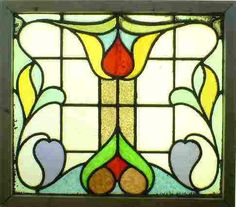 Image detail for -Art Nouveau Window by an Unknown Deisgner and Manufacturer