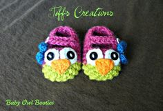 baby owl booties kid-s-clothes