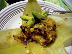 Vegan Corn Tamales
