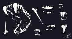 furaligatr:  Hey everybody today I drew teeth
