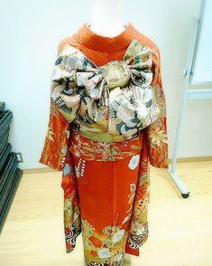あこさんはInstagramを利用しています:「* 振袖 帯結び☆ #着物#着付け#振袖#帯結び#振袖帯結び#kimono#美容師#美容室#静岡市美容室#成人式」