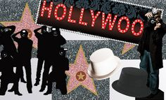 A Hollywood theme engagement party: Color scheme, decorations, best ideas and tips, supplies, games. Turn your party into a glam event.