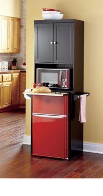 Mini Fridge Microwave Storage Cabinet, Mini Fridge Microwave Cabinet For Dorm