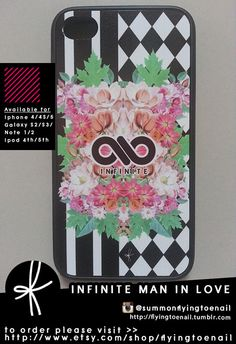 INFINITE Man In Love Case (available in various devices). $18.00, via Etsy.