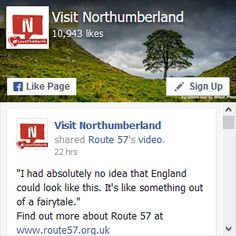 Visit Northumberland on Facebook