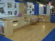 SoftWood™ interlocking foam floor tiles are perfect for exhibit flooring, trade show flooring & expo flooring and create a durable and comfortable trade show experience for your customers and your staff.