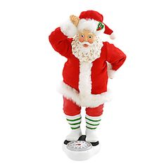 Fabriché™ Keeping Santa Fit
