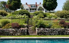 So charming landscaping. Crisp Architects in NY.