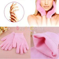 2 PCS Moisturize Soften Repair Whiten Skin Moisturizing Treatment Gel Spa Gloves