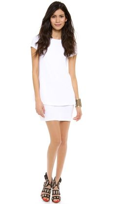 Bridal Shower Dress Susana Monaco Bri Layered Shift Dress