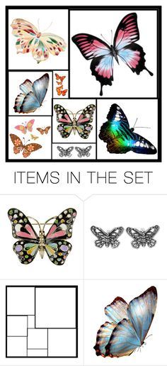 Pastel Butterfly Template Butterfly template, Pastels and Polyvore