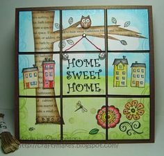 Home sweet home. From www.kimdellow.co.uk