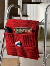 technically this is crocheted - but bet you could make it work with other materials