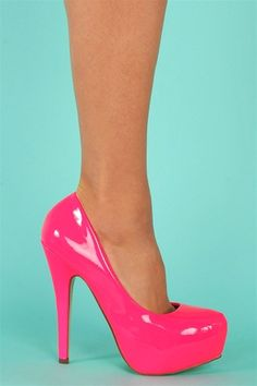 Malibu Pumps - Hot Pink