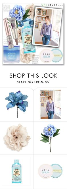 """Show us your YesStyle"" by lejla-7 ❤ liked on Polyvore featuring Cara, Etude House and Laneige"