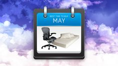 The Best Things to Buy in May    Spring is a great time to stock up on some new furnishings and other household items, especially in May. Here are the best things to buy this month.
