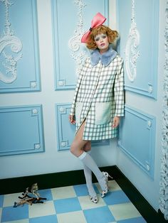 In the doll's house / STYLIST mAGAZINE on Behance