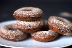 Apple cider donuts...remind me of Andy T's!