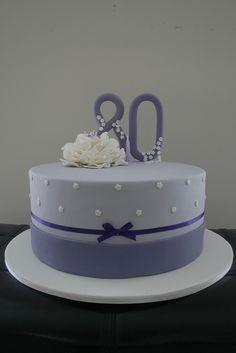 80th Birthday Cake by cupcake750, via Flickr