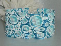 Effervescence Peyote Cuff Pattern