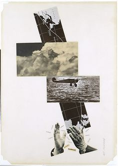 Mieczyslaw Berman, Lindbergh II, 1927 (photograph of collage/photomontage).