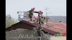Sisma centro Italia - Soccorsi dei Vigili del Fuoco - Visso 28 Ottobre -...