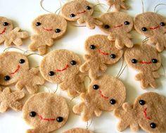 Gingerbread men gifttags by berrysprite, via Flickr