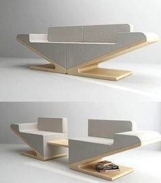 15 Exceptional Modular Furniture Designs Which Are Worth Having is part of Modular furniture design - If you like to constantly make a new layout in the apartment, modular furniture is the right choice for you! Modular furniture is convenient because it Folding Furniture, Multifunctional Furniture, Modular Furniture, Types Of Furniture, Space Saving Furniture, Retro Furniture, Plywood Furniture, Unique Furniture, Home Decor Furniture