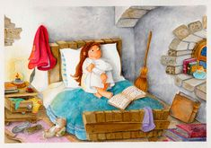Exposición Isabel Osma – The Art Gallery Gallery, Children, Painting, Drawings, Art, Illustration Children, Exhibitions, Reading, Over Knee Socks
