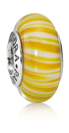 Pandora Yellow Candystripes
