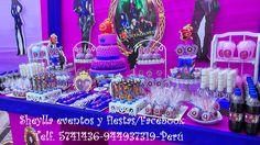 torta, bocaditos personalizados, descendientes Delphine, Facebook Sign Up, Birthday Decorations, Facebook Party, Parties Kids, Events, Food Cakes