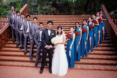 bridesmaid best man  www.weddingstoryz... Wedding Storyz | Indian Bride | Indian Wedding | Indian Groom | South Asian | Bridal wear | Lehenga details | Bridal Jewellery | Makeup | Hairstyling | Indian | South Asian | Mandap decor | Henna Mehendi designs