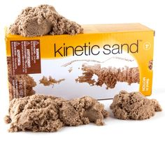 Kinetic Sand is so fun!