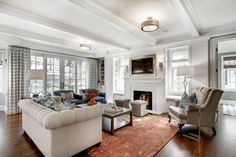 Country Club Project Remodel - transitional - living room - minneapolis - Great Neighborhood Homes