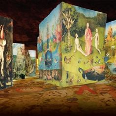 The Fantastic and Wonderful World of Bosch, Brueghel and Arcimboldo | Carrières de Lumières - LesBaux-de-Provence