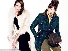 Miranda Hart looks amazing!! Loving the plaid jacket!