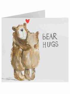 Herbie & Friends Bear Hugs Valentine's Day Card - Valentines | Clintons