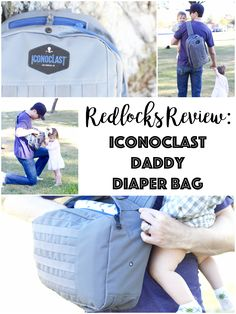 Redlocks is here bringing you a review on a great product for dads: the Iconoclast Dad Bag! I am so blessed that my husband is a very 'hands on' father.   Raising a family with two work…