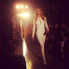 The closing look at Emilio Pucci SS14 #mfw  #fashionweek