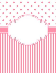 Free printable red polka dot and stripe binder cover template. JPG and PDF versions available. Notebook Cover Design, Notebook Covers, Binder Covers Free, Binder Cover Templates, Blue Polka Dots, Printable Paper, Cover Pages, Scrapbook Paper, Coloring Pages
