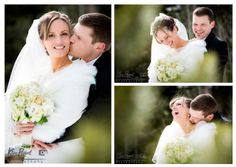 *Real Wedding*Rocky Mountain Wedding*Banff/Canmore Wedding*Photographer*winter wedding*Romantic Wedding*bride and groom portrait* bride and groom laugh*www.kimpayantphotography.com