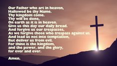 Words to the Our Father prayer (the 'Lord's Prayer') in Spanish. Also with the 'Padre Nuestro' in English, and links to commentary on this beautiful prayer by famous theologians. Famous Prayers, Short Prayers, Prayer Line, Prayer Book, Our Father In Spanish, Saint Francis Prayer, Prayer For Fathers, Book Of Common Prayer, Names With Meaning