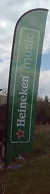 Large-Heineken-Beer-Flags-Approx-16-Ft-RARE-UNIQUE-FLAG-50-DISCOUNT