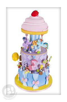 My Little Pony; Friendship is Magic Carousel and Sweets cake