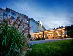 Hotel Kaskady in the evening   #luxury #holiday #hotel #kaskady #surroundings  #night