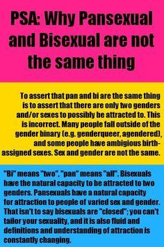 Define pan sexual orientation
