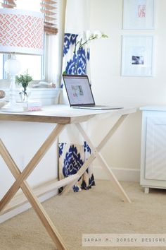 On Monday's post I shared a few photos and why this desk wasn't a weekend project and how it could be. Today I'll talk about how we b...